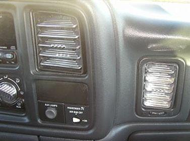 Billetin 99 6 Chevy Fullsize Billet Vent Kit Custom