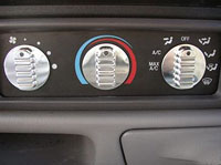 Ford Truck Billet A/C Knobs