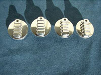 1995, 1996, 1997 and 1998 Chevy truck billet heater, a/c, and headlight knobs